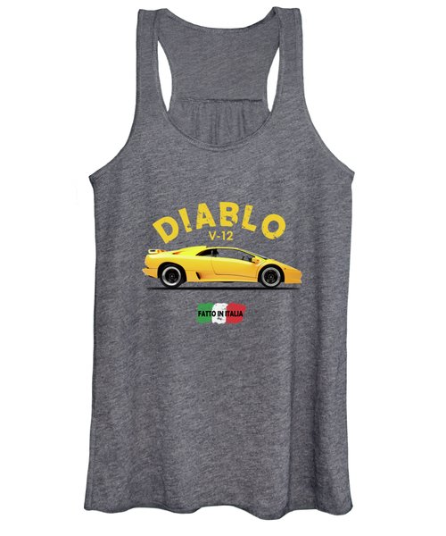 The Lamborghini Diablo Women's Tank Top