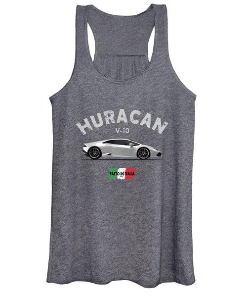 The Lamborghini Huracan Women's Tank Top
