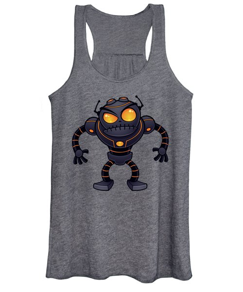 Angry Robot Women's Tank Top