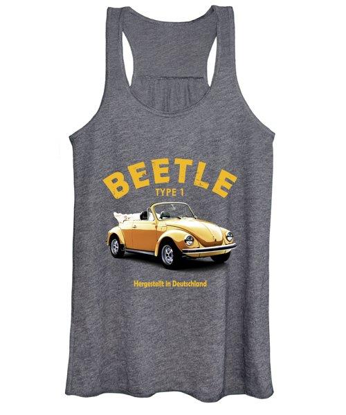 Vw Beetle 1972 Women's Tank Top