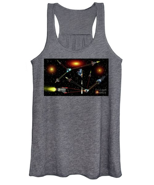 Attacked Women's Tank Top