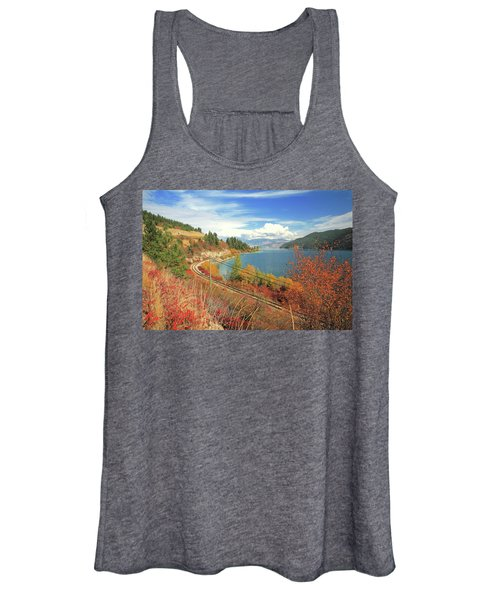 Autumn In Oyama And Kalamalka Lake Women's Tank Top