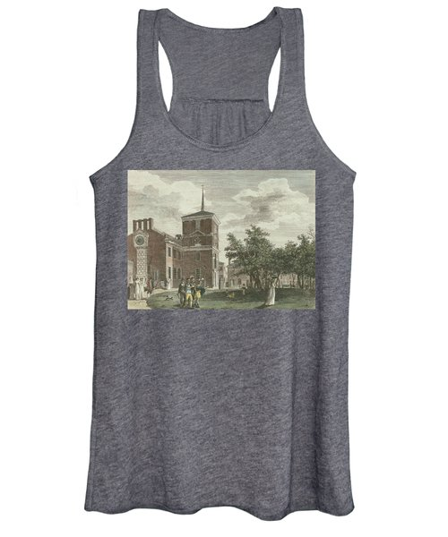 Back Of State House Women's Tank Top