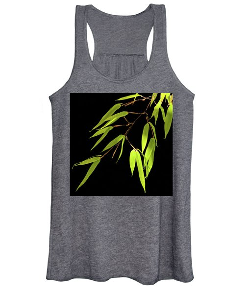 Bamboo Leaves 0580a Women's Tank Top