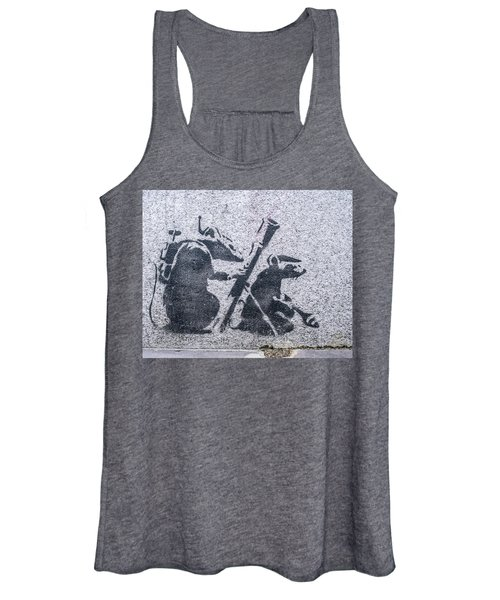 Banksy Bazooka Rats Women's Tank Top