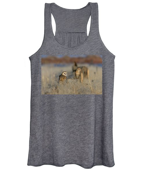 Barn Owls 9 Women's Tank Top