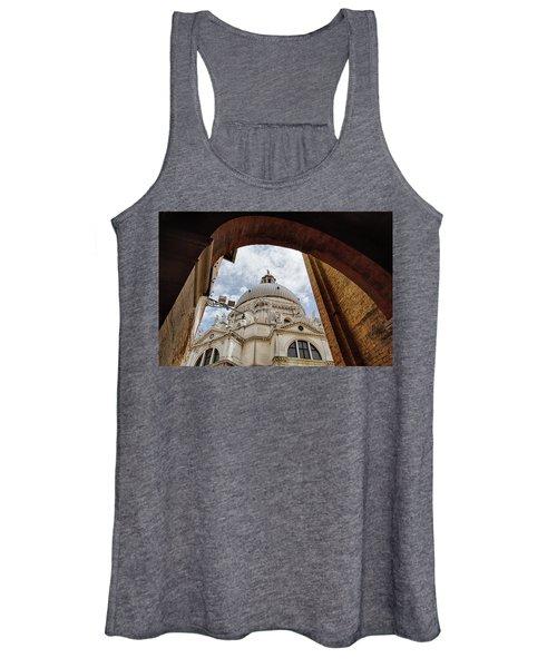 Basilica Di Santa Maria Della Salute Venice Italy Women's Tank Top