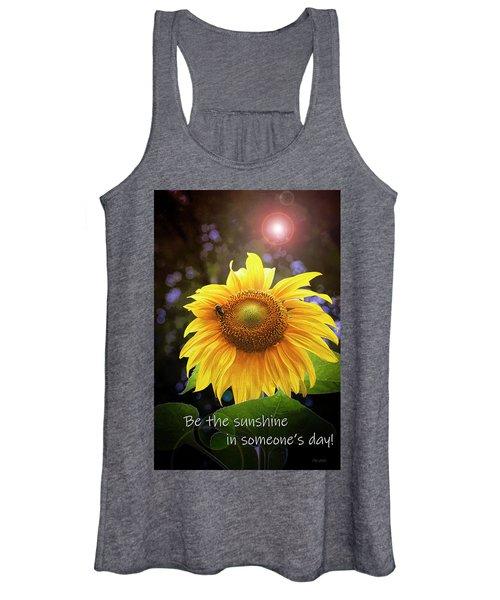 Be The Sunshine  Women's Tank Top