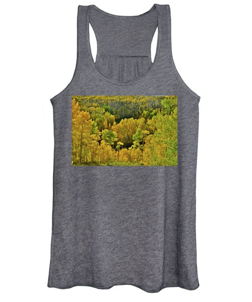 Beautiful Fall Colors At Woods Lake State Wildlife Area Women's Tank Top