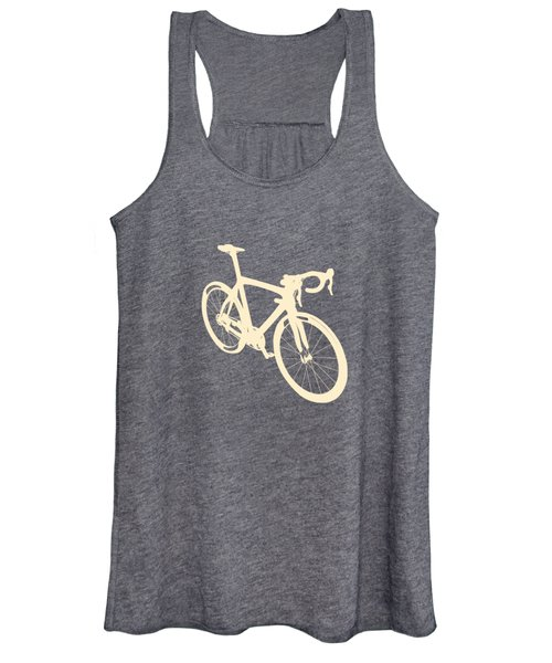 Beige Bike Women's Tank Top