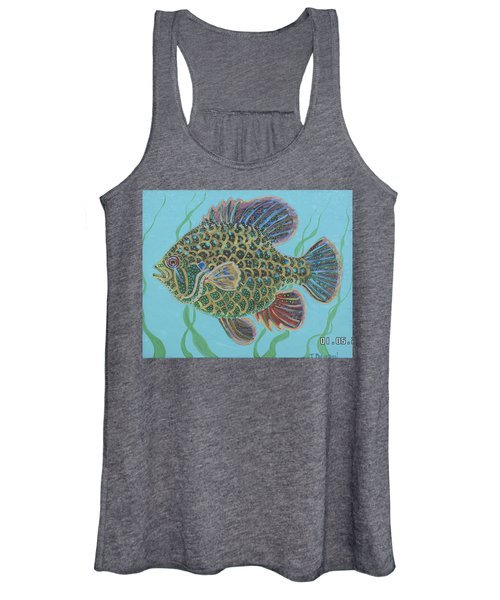 Bejeweled Bluegill Women's Tank Top