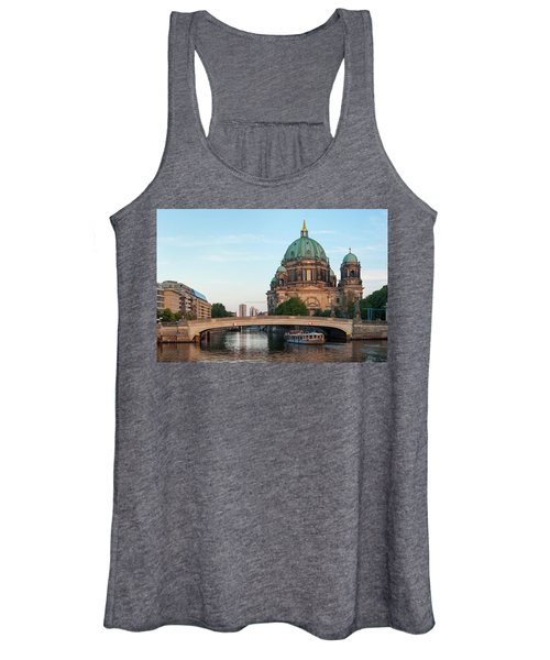 Berliner Dom And River Spree In Berlin Women's Tank Top