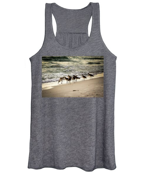 Birds On The Beach Women's Tank Top