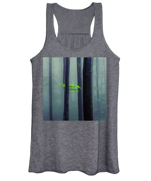 Bit Of Green Women's Tank Top