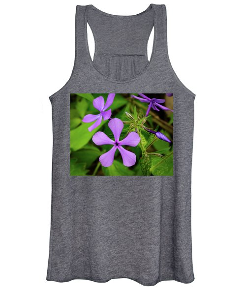 Blue Phlox Women's Tank Top
