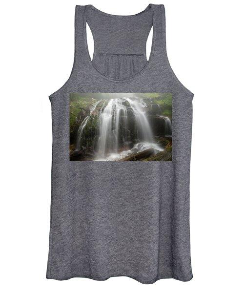 Blue Ridge Mountain Falls Women's Tank Top