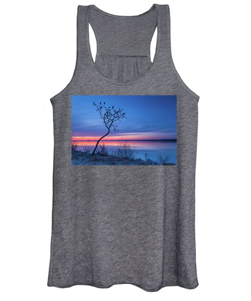 Blue Silence Women's Tank Top