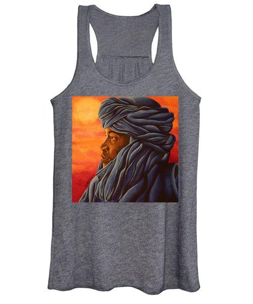 Blue Tuareg Women's Tank Top