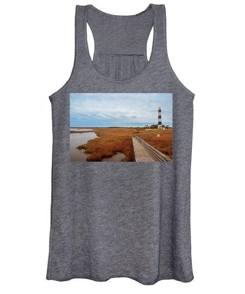 Bodie Island Lighthouse No. 3 Women's Tank Top