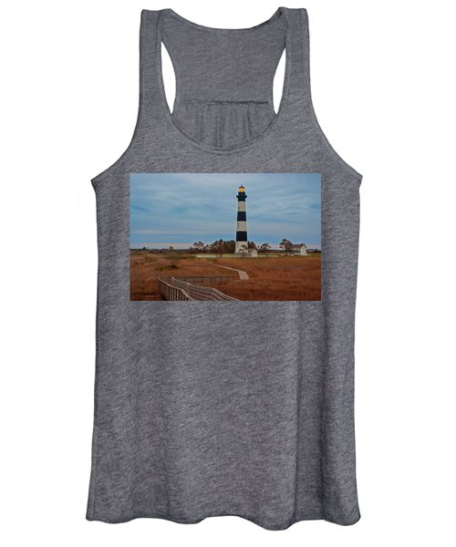 Bodie Island Lighthouse No. 4 Women's Tank Top