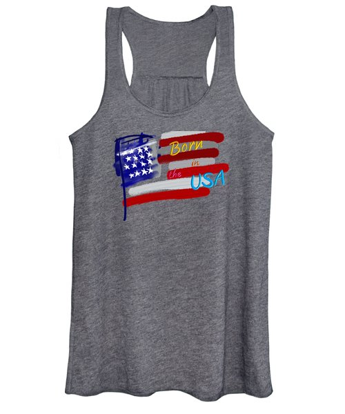 Born In The Usa - T-shirt Women's Tank Top