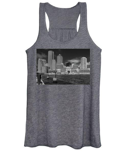 Boston Harbor Skyline Women's Tank Top