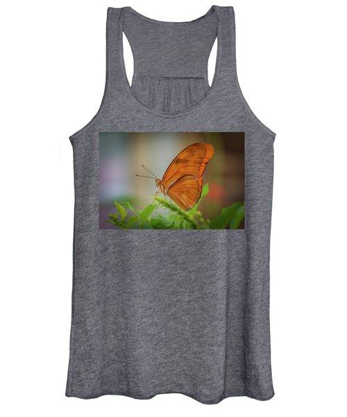 Butterfly, Delicate Wings... Women's Tank Top