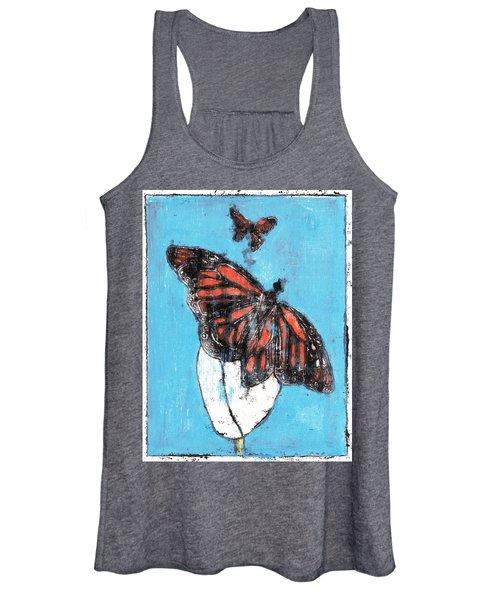 Butterfly Garden Summer 1 Women's Tank Top