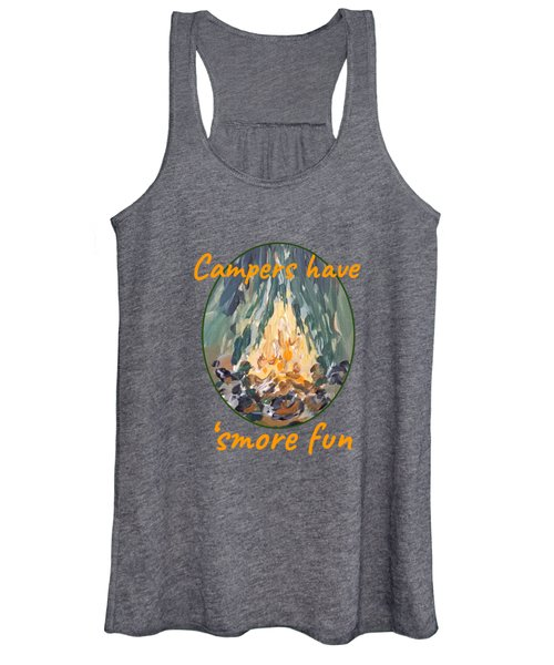 Campers Have Smore Fun Women's Tank Top