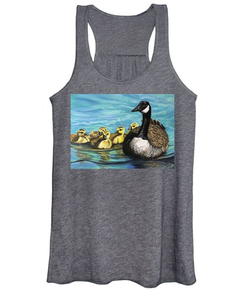 Canadian Goise And Goslings Women's Tank Top