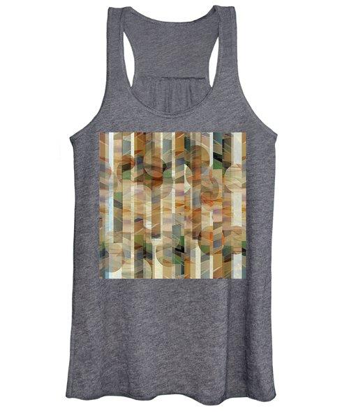 Canyon Circles And Stripes Women's Tank Top