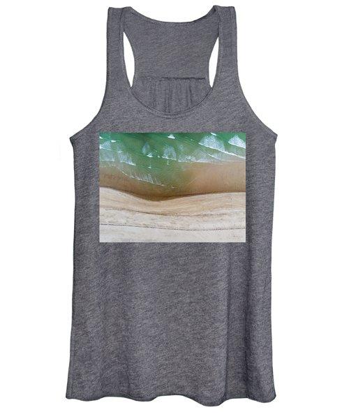 Cape Cod Beach Abstract Women's Tank Top