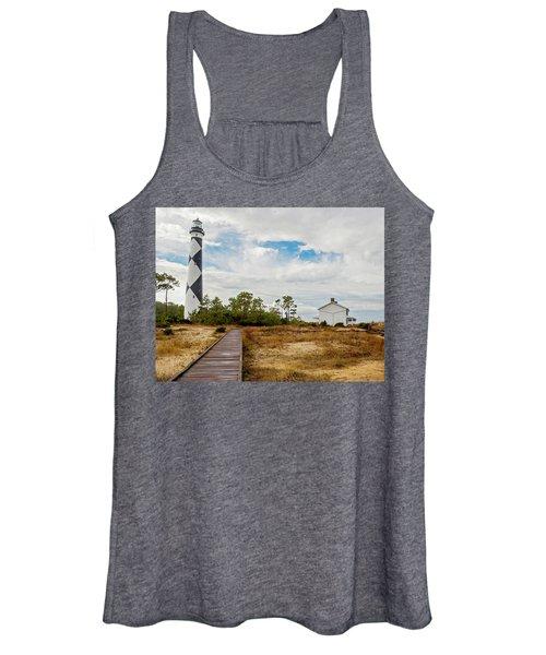 Cape Lookout Lighthouse No. 2 Women's Tank Top