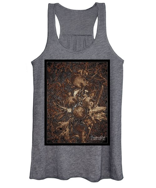 Carved Apples Women's Tank Top