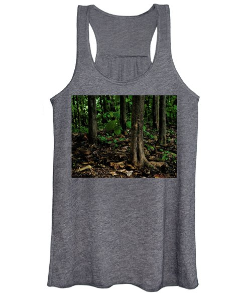 Cedar Trees Women's Tank Top
