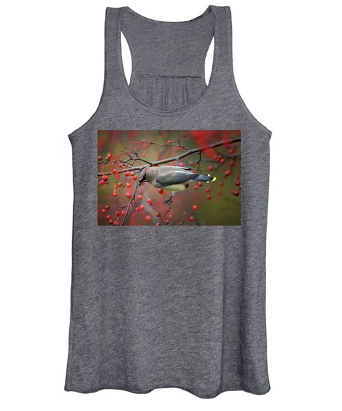 Cedar Waxwing 102206 Women's Tank Top