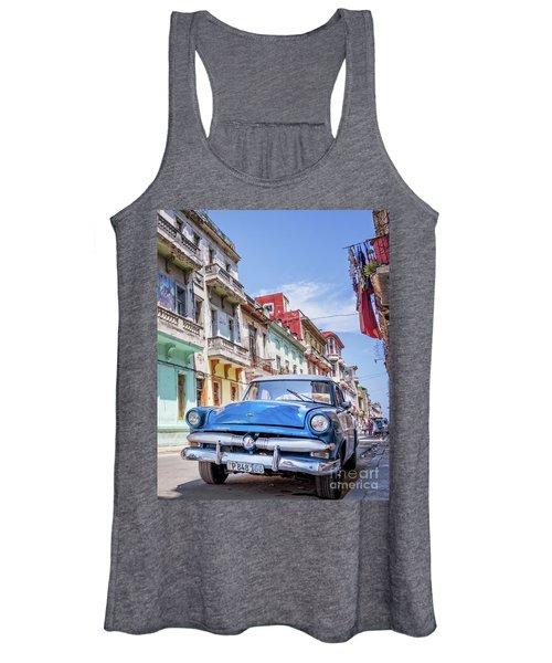 Centro Habana - Vertical Women's Tank Top