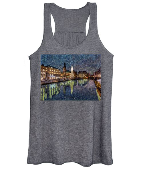 Christmas Hamburg Women's Tank Top