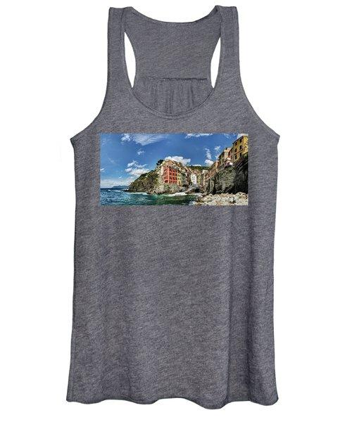 Cinque Terre - View Of Riomaggiore Women's Tank Top
