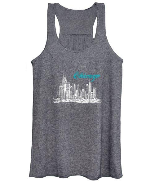 City Of Chicago T-shirt Women's Tank Top