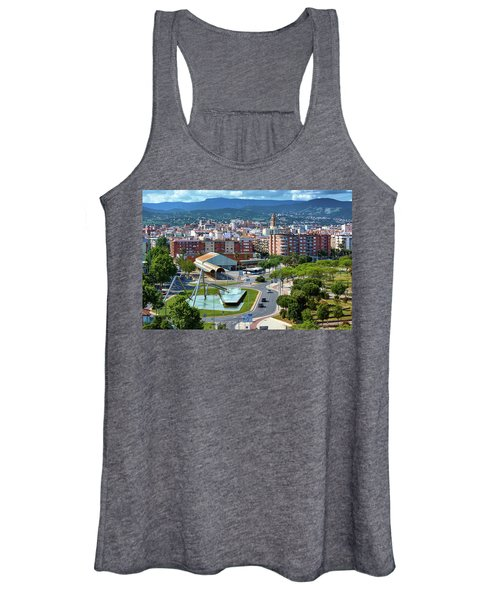 Cityscape In Reus, Spain Women's Tank Top