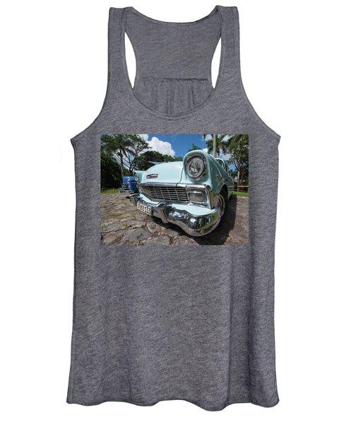 Classic Cuban Chevy Women's Tank Top