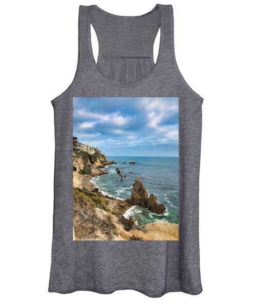 Cliffs Of Corona Del  Mar Women's Tank Top