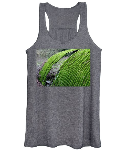 Colours. Green Women's Tank Top