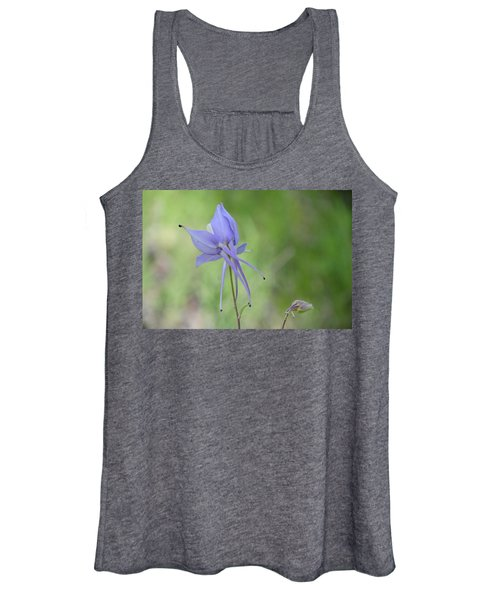 Columbine Details Women's Tank Top