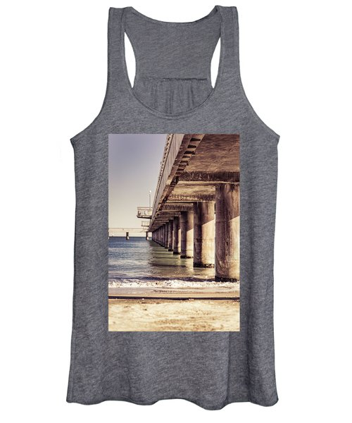Columns Of Pier In Burgas Women's Tank Top