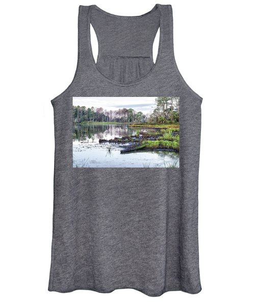 Coosaw - Early Morning Rice Field Women's Tank Top
