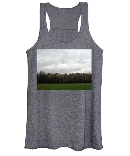 Country Autumn Drive Women's Tank Top