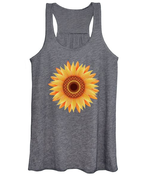 Country Sunflower Women's Tank Top