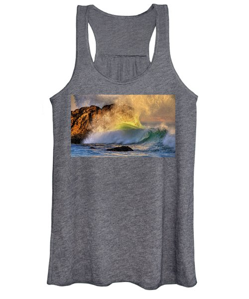 Crashing Wave Leo Carrillo Beach Women's Tank Top